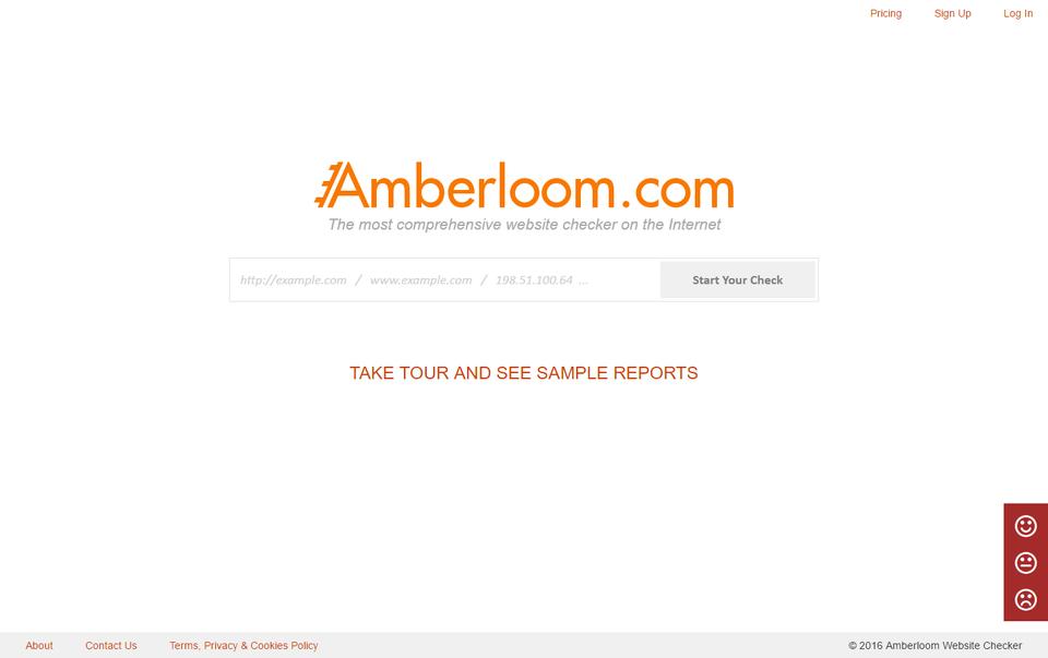 Amberloom Website Checker