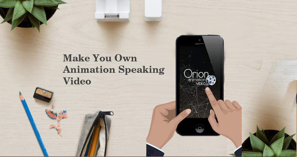 Animation Speaking App