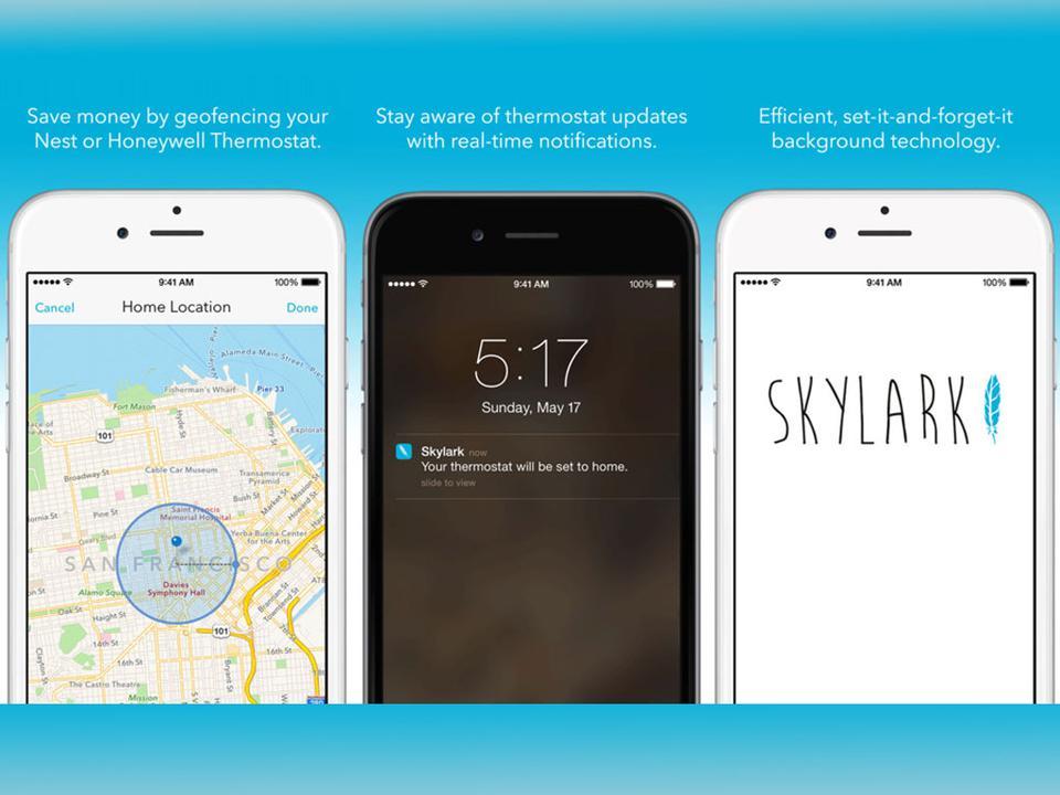 Skylark for Nest & Honeywell Smart Therm