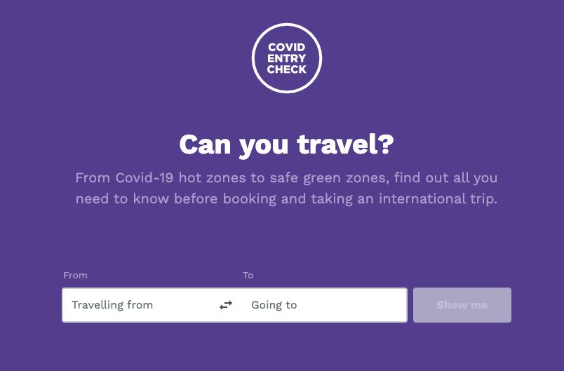 Covid Entry Check