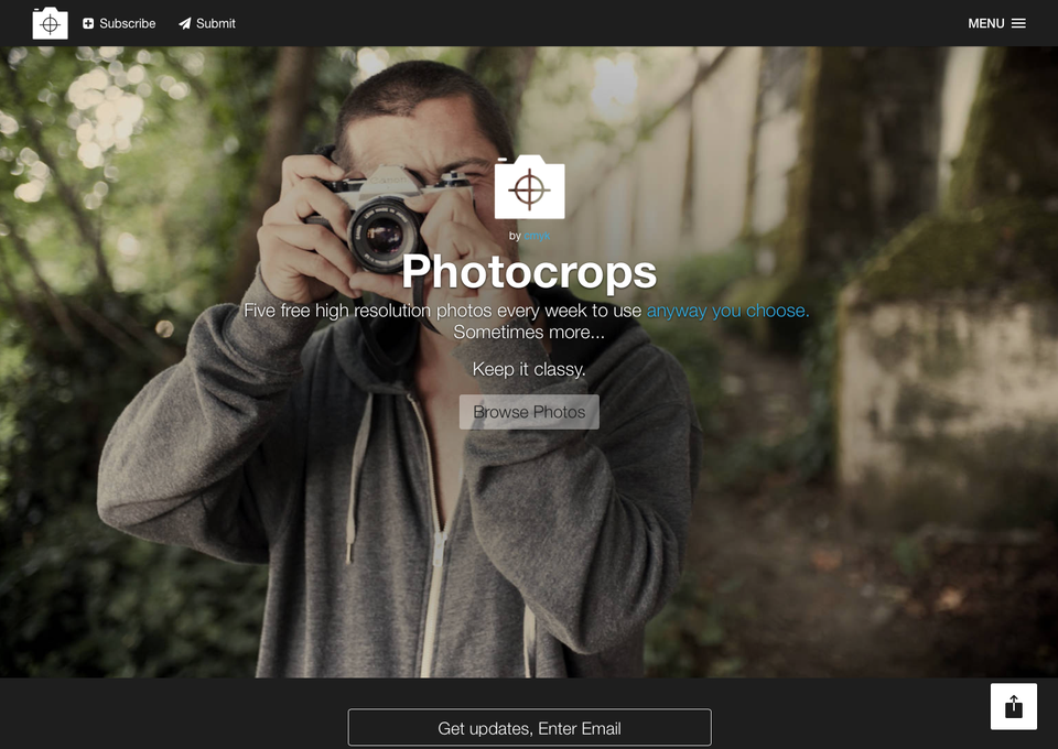 Photocrops