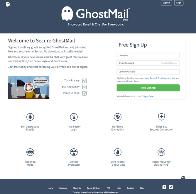 GhostMail™