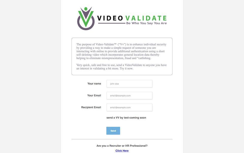 VideoValidate