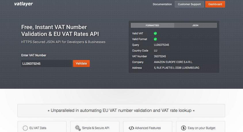 vatlayer API