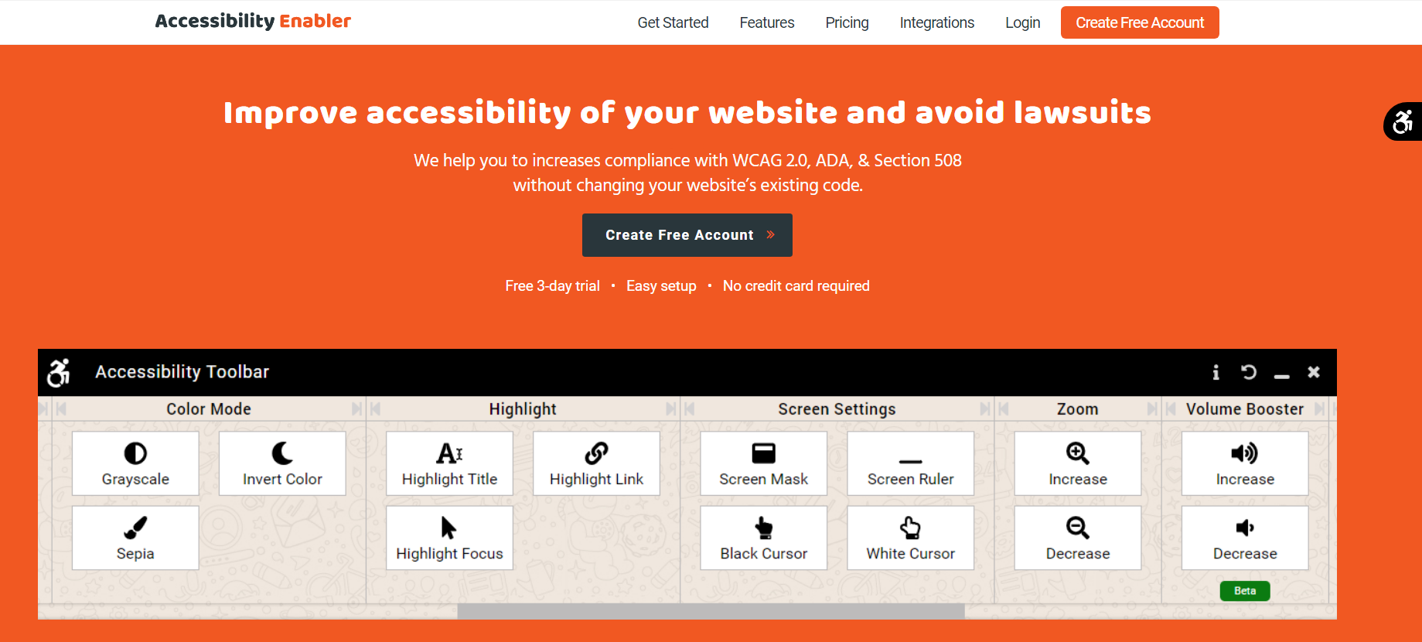 Accessibilty Enabler