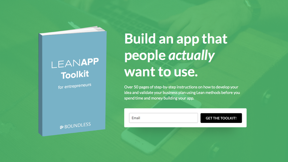 Lean App Toolkit