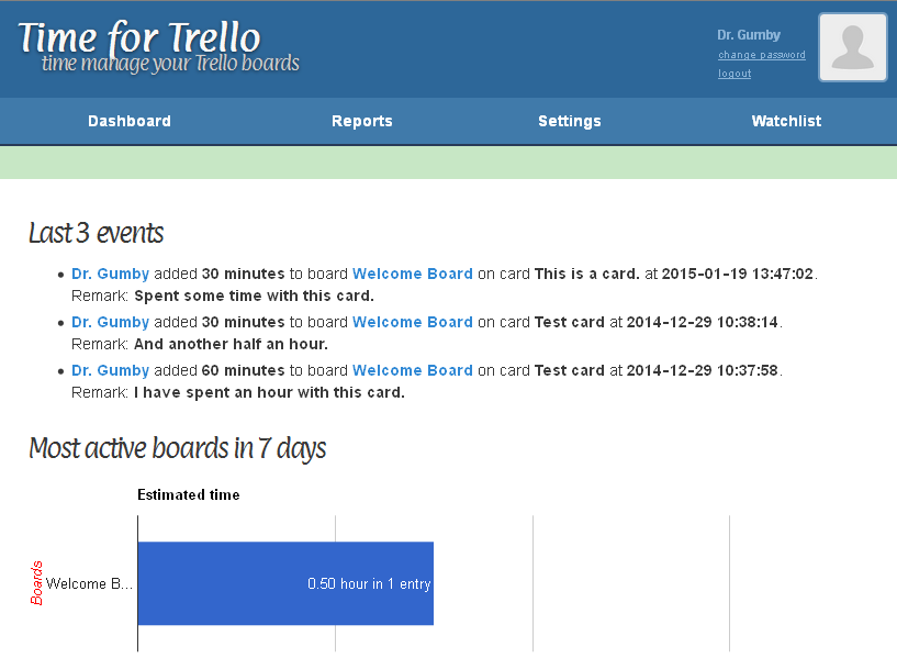 Time for Trello
