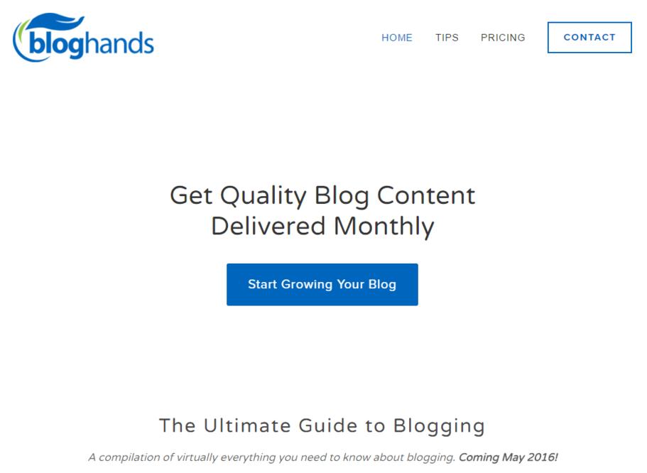 Blog Hands