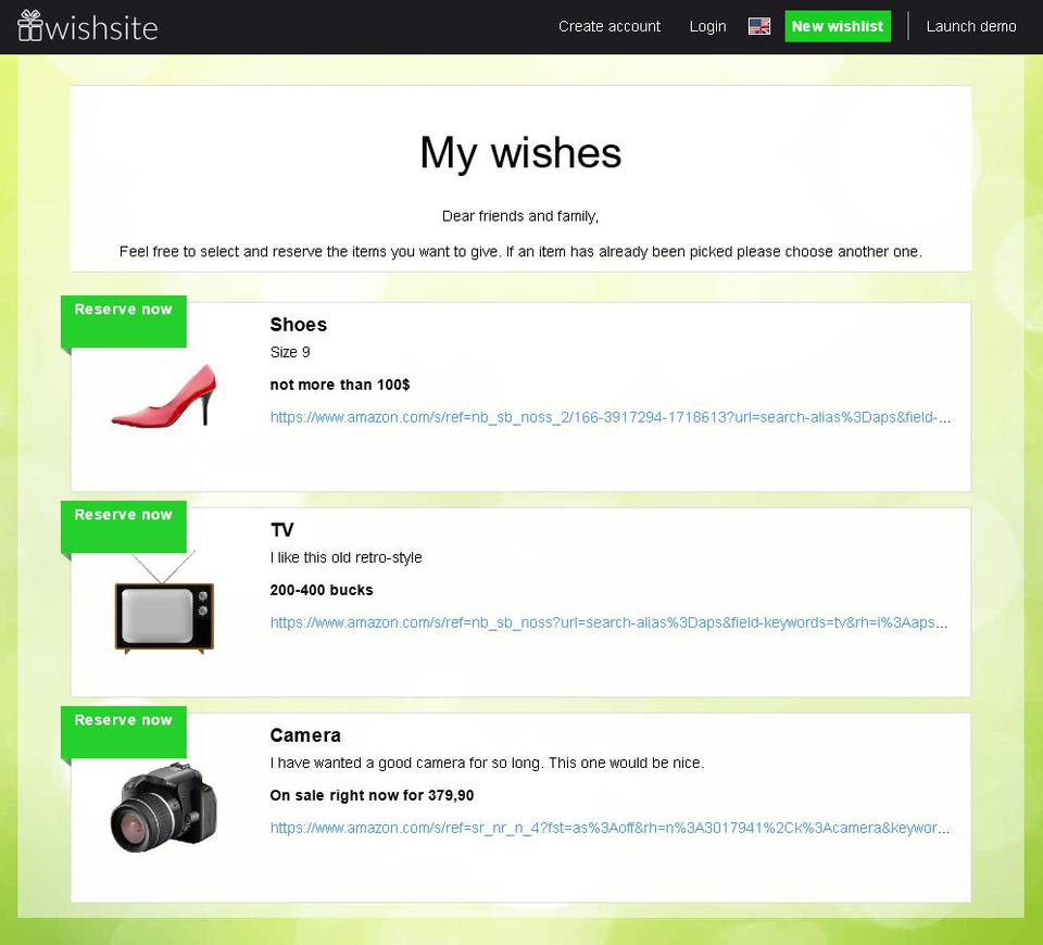 wishsite