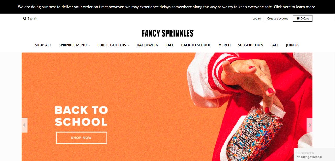 Fancy Sprinkles