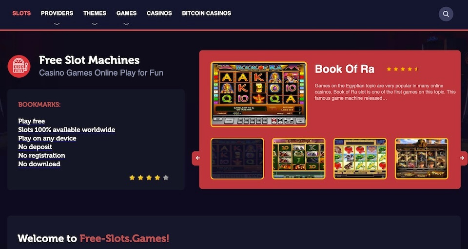 Free Slot Machines To Play No Download