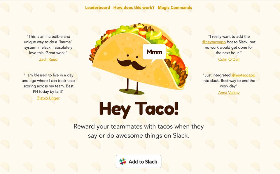 Hey Taco!