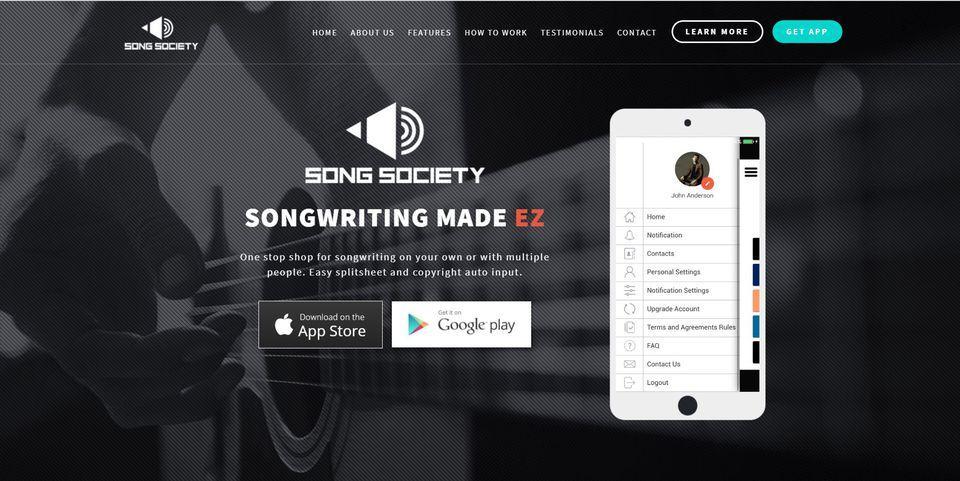 Song Society App