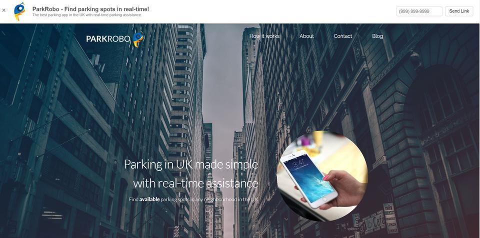 ParkRobo - Complete Parking App