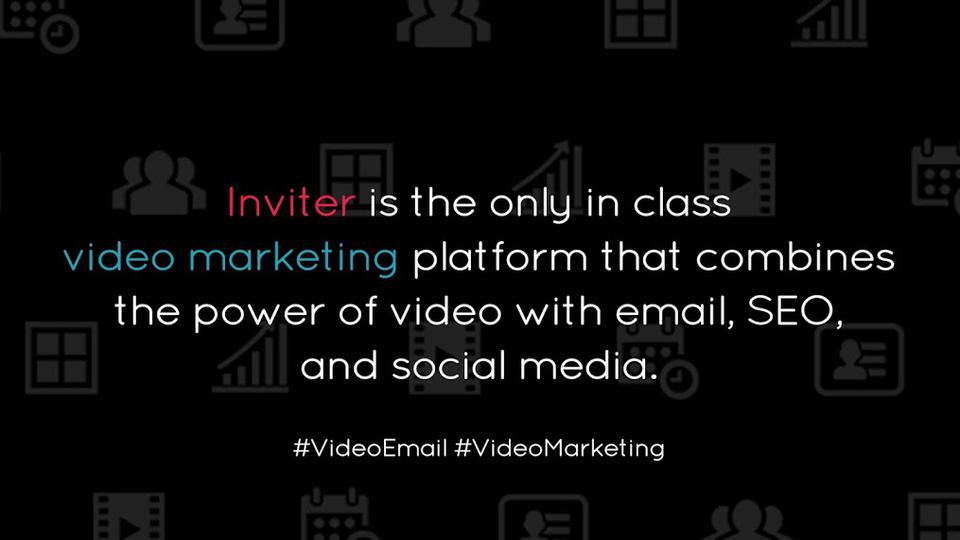 Inviter - video marketing & video email