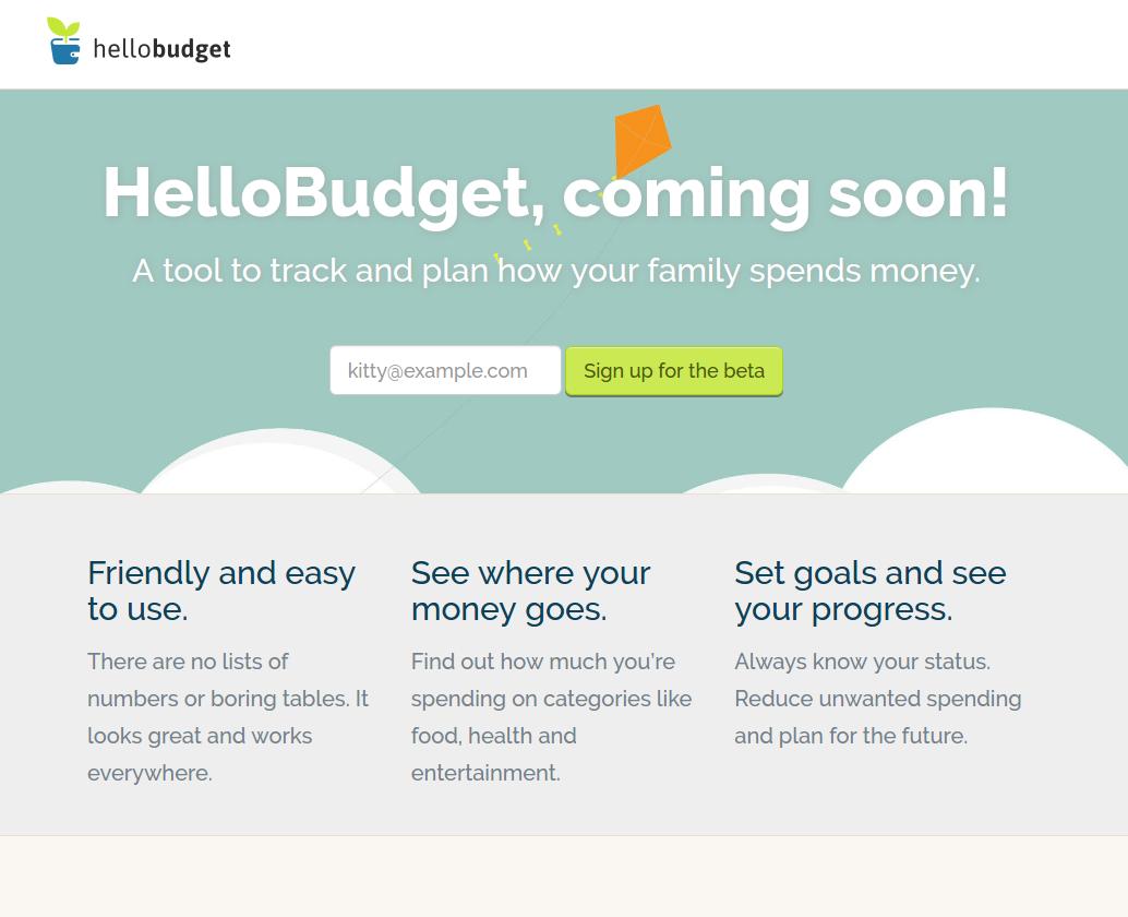 Hello Budget