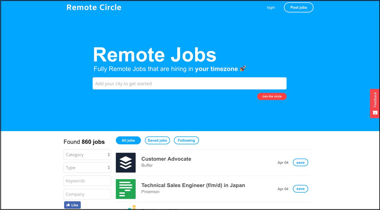 Remote Circle